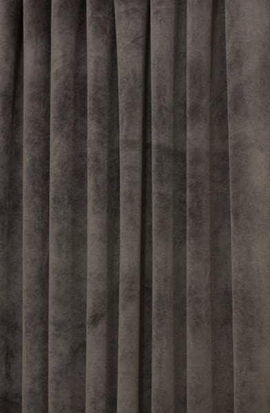 Hilton Velvet Grey Made to Measure Curtains