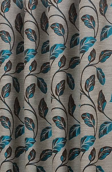 You Are Home Made To Measure Curtains Romance Teal
