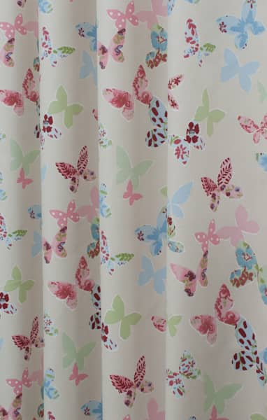 You are home made to measure curtains butterfly vintage