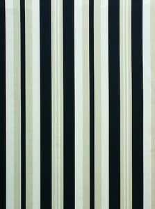 Noah Stripe Black