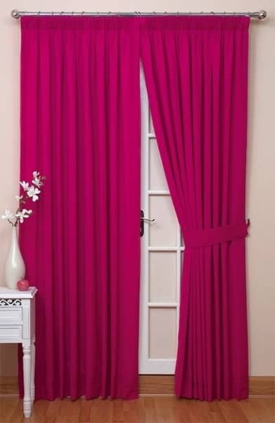 Hot Pink Blackout Curtains Indigo Blackout Curtains