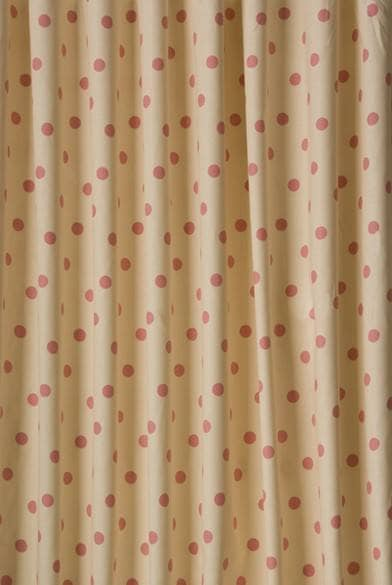 Polka Dot Cream Made to Measure Curtains