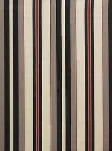 Noah Stripe Red & Black
