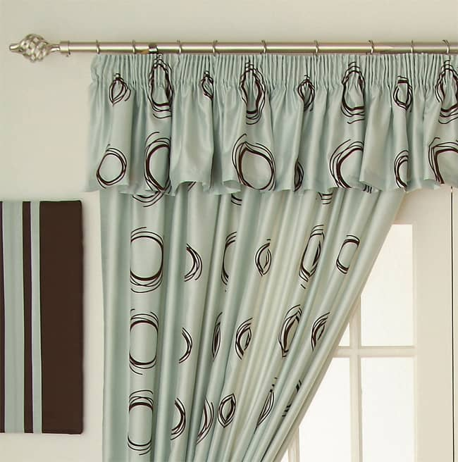 How to buy curtains part three heading styles for Pencil pleat curtains on track