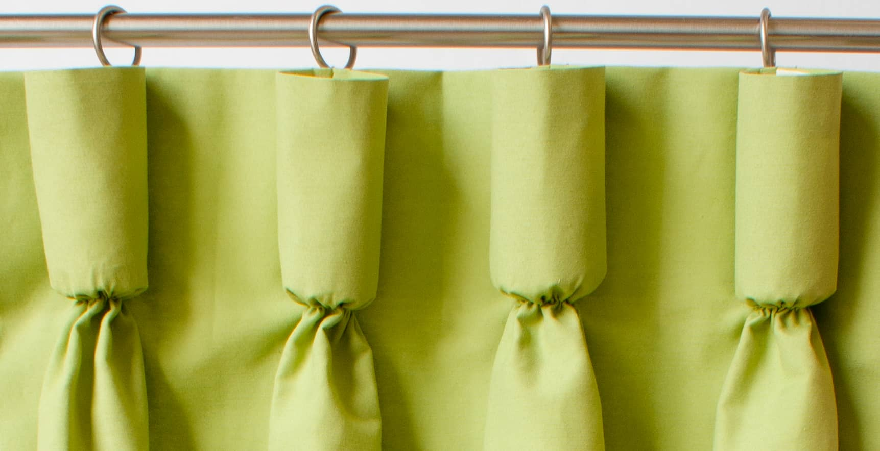 A guide to styles of curtain headings for Different styles of drapes