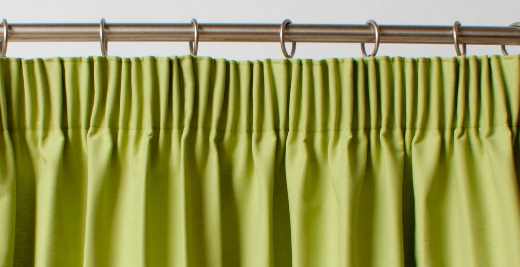 A Guide to Styles of Curtain Headings for Pencil Pleat Curtains On Track  110zmd