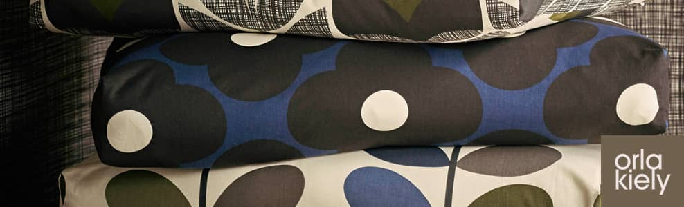 70s design fabrics by Irish designer Orla Kiely