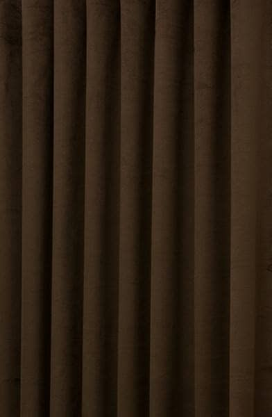 Are home made to measure curtains hilton velvet dark brown
