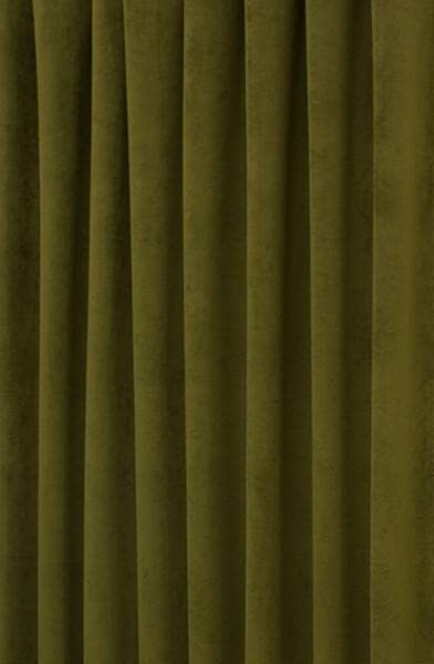 Curtains Ideas christmas curtain fabric : Hilton Velvet Olive - Curtain Fabric