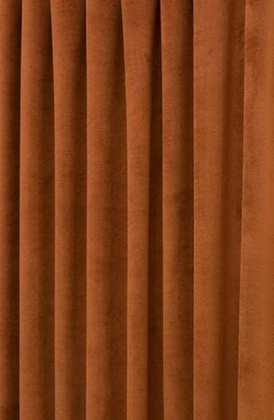 Hilton Velvet Terracotta Made To Measure Curtains