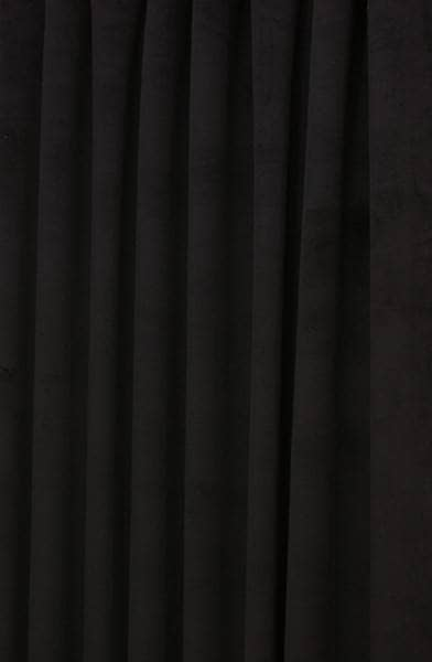 Curtains Ideas black velour curtains : Hilton Velvet Black - Made to Measure Curtains