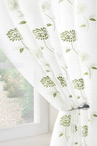 carnation voile green