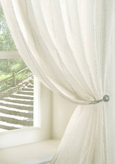 Chain Cream panels Voiles & Voile Panels