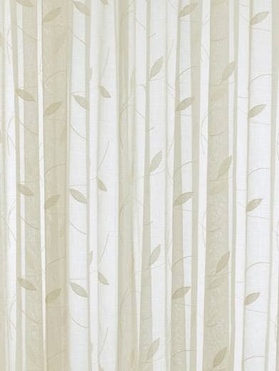 Leaf Cream panels Voiles & Voile Panels