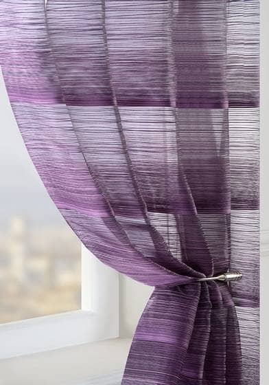 Strata Plum Made To Measure Voiles