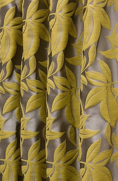 Viganello Chartreuse Roman Blinds