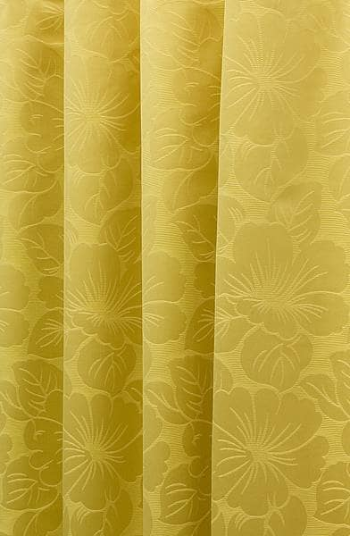 Pazzallo Chartreuse Curtain Fabric