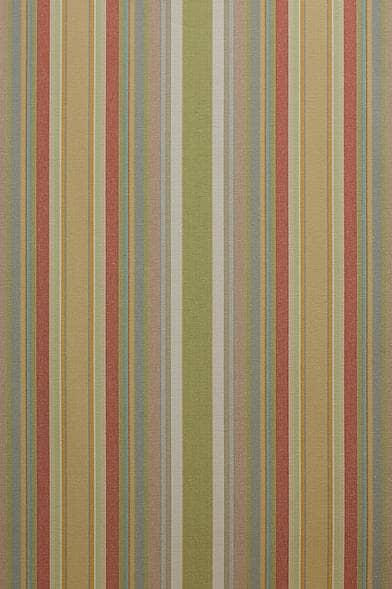 French Stripe Oasis Curtain Fabric