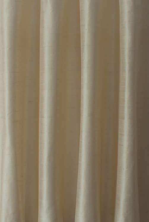 Silk Ivory Made To Measure Curtains