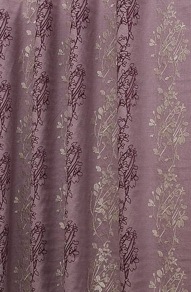 Amore Purple Curtain Fabric