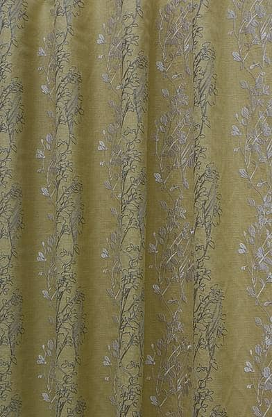 Amore Chartreuse Curtain Fabric