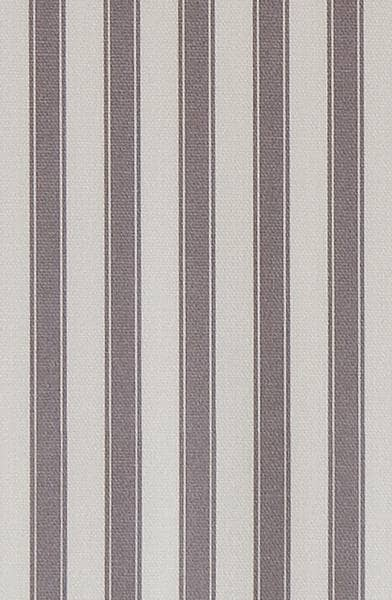 Ticking Stripe Grey Curtain Fabric