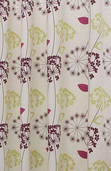 Allium Purple Roman Blinds