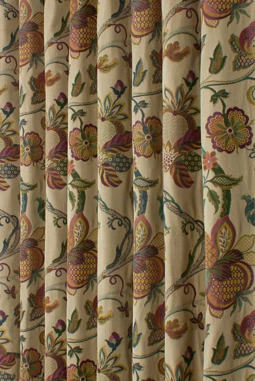 Jacobean Multi Curtain Fabric
