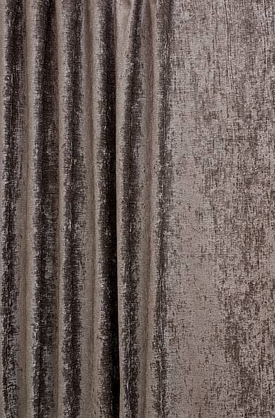 Luxor Pewter Curtain Fabric