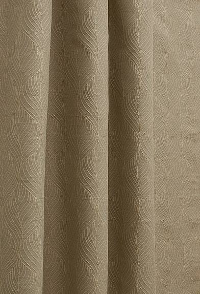 Juruti Latte Curtain Fabric