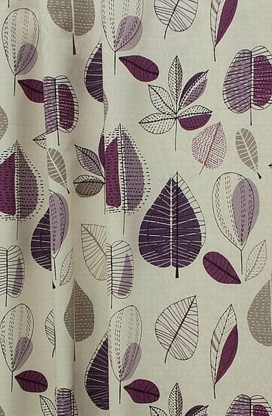 Maple Damson Roman Blinds