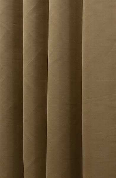 Asina Gold Curtain Fabric