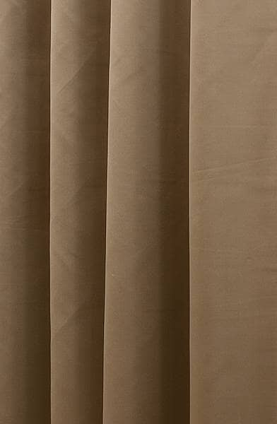 Asina Latte Curtain Fabric