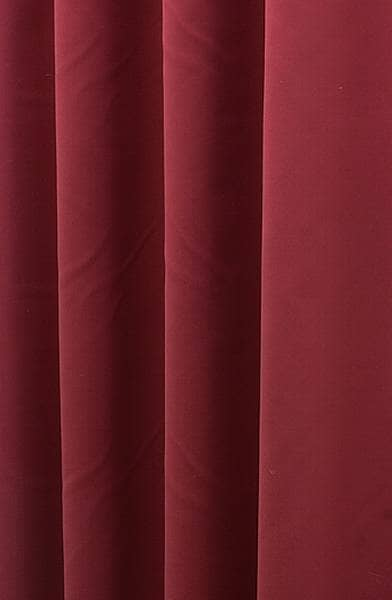 Asina Scarlet Curtain Fabric