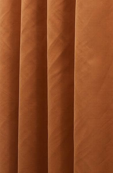 Asina Orange Made to Measure Curtains
