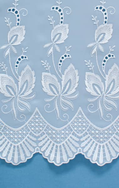 Winfarthing White Net Curtains