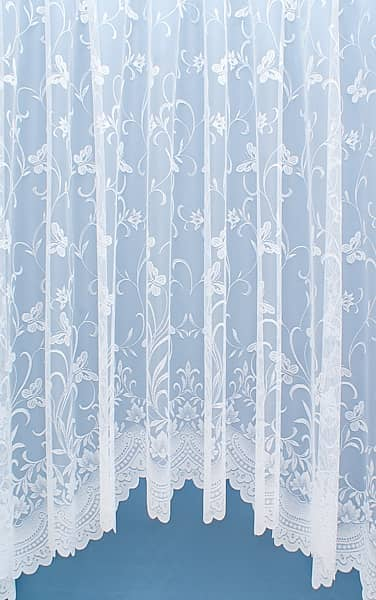 Hemblington jardiniere White Jardiniere Net Curtains
