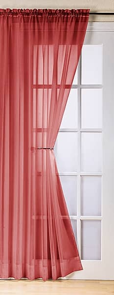 Trent Red Voiles & Voile Panels