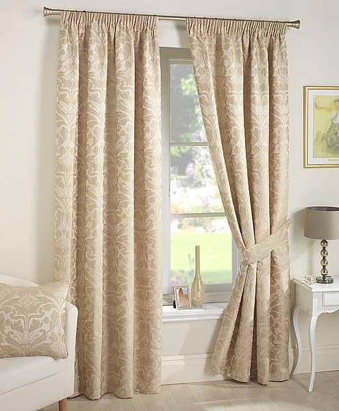 Crompton Natural Ready Made Curtains