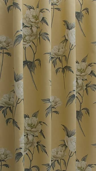 Somersby Mimosa Curtain Fabric