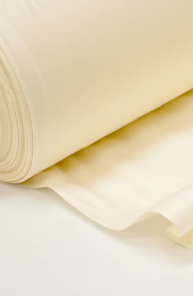 Cotton Sateen Ivory Lining by the metre