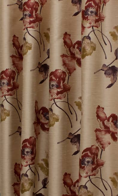 Ayre Sienna & Gold Roman Blinds