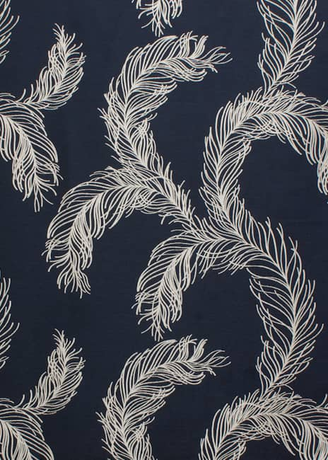 Plume Indigo Made to Measure Curtains