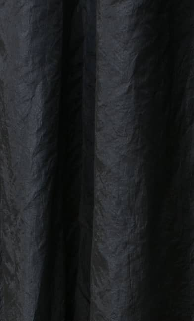 Polo Black Curtain Fabric