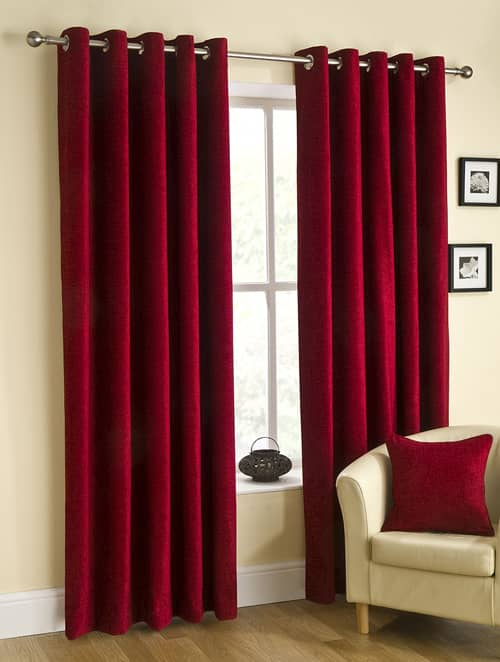 Curtains Ideas burgundy eyelet curtains : Eyelet Ready Made Curtains by Belfield Furnishings