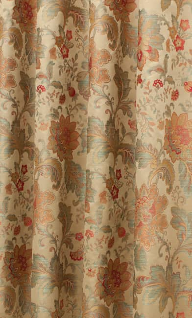 Simone Chintz Curtain Fabric