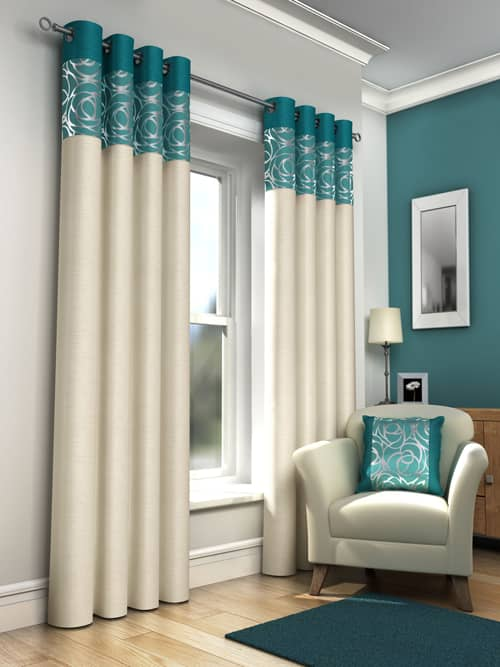 You are: Home › Ready Made Curtains › Skye, Teal
