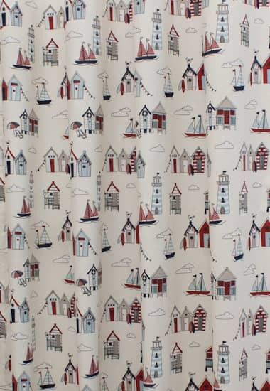 Happy Days Nautical Made To Measure Curtains