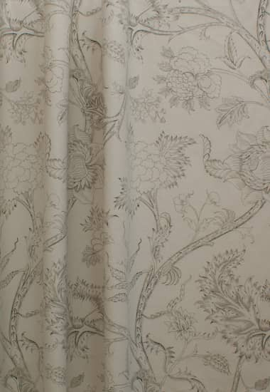 Harewood Charcoal Curtain Fabric