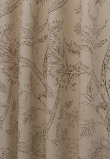 Harewood Mocha Curtain Fabric